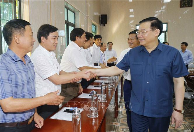 Chủ tịch Quốc hội Vương Đình Huệ kiểm tra công tác chuẩn bị bầu cử tại Hải Phòng ảnh 4