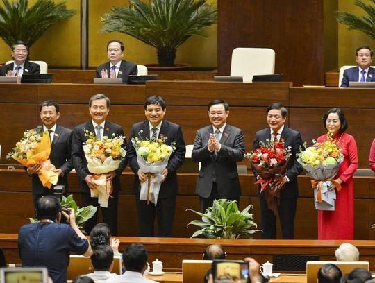 Nghị quyết miễn nhiệm, bầu một số chức danh lãnh đạo Nhà nước, Chính phủ, Quốc hội ảnh 1