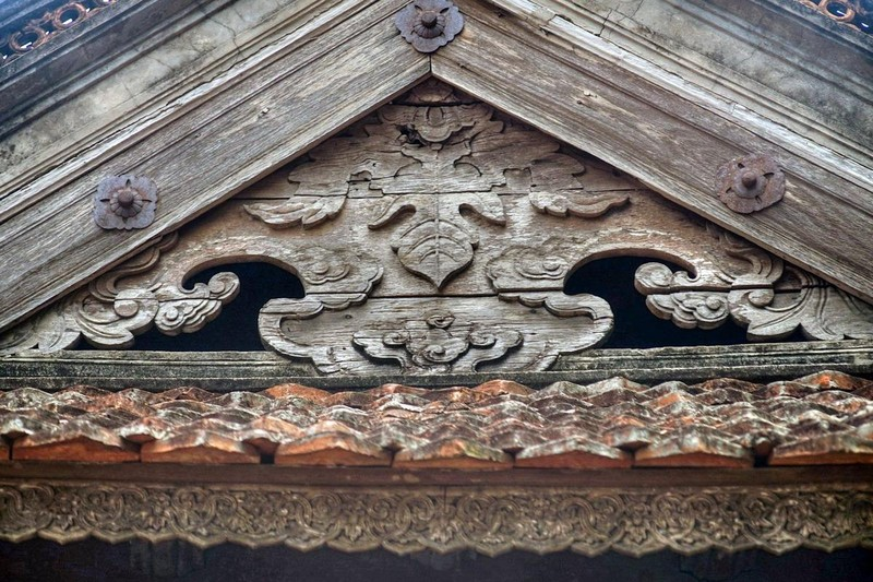 Những nét đẹp cổ kính tại Chùa Tây Phương ảnh 10