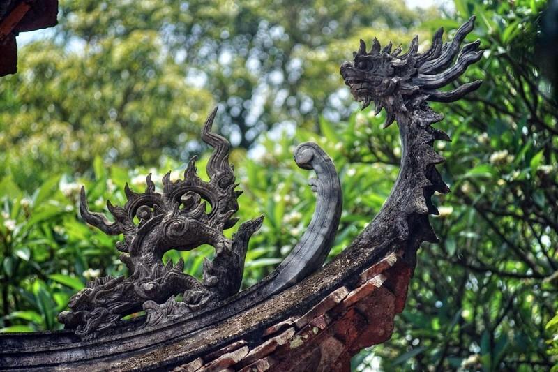 Những nét đẹp cổ kính tại Chùa Tây Phương ảnh 11