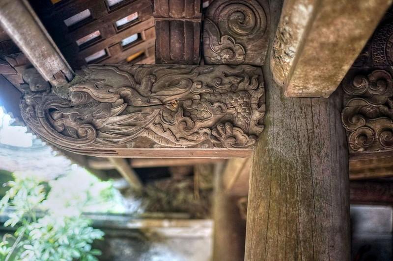 Những nét đẹp cổ kính tại Chùa Tây Phương ảnh 17