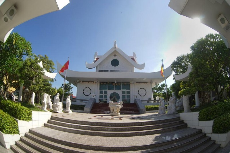 Tư tưởng chủ đạo trong kiến trúc của chùa Vĩnh Phước là sự hòa hợp Thiên, Địa, Nhân theo quan niệm Á Đông.
