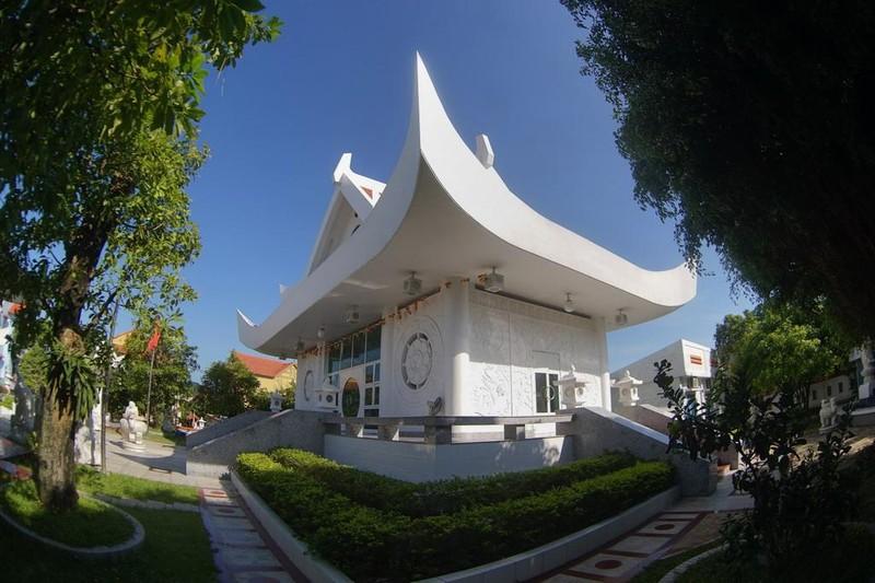 Theo đồ án thiết kế, tư tưởng chủ đạo trong kiến trúc của chùa Vĩnh Phước là sự hòa hợp Thiên, Địa, Nhân (Trời, Đất, Người) theo quan niệm Á Đông.