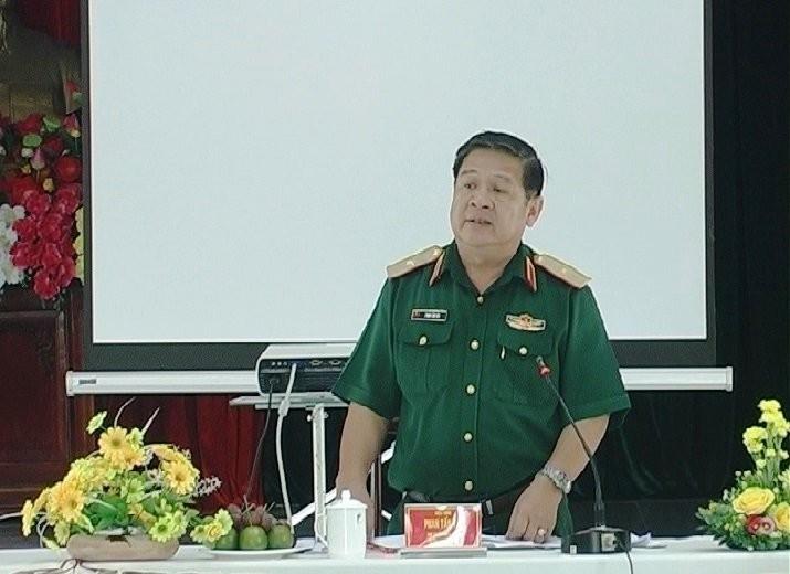 Thiếu tướng Phan Tấn Tài. Ảnh: Tinhuybinhphuoc.vn