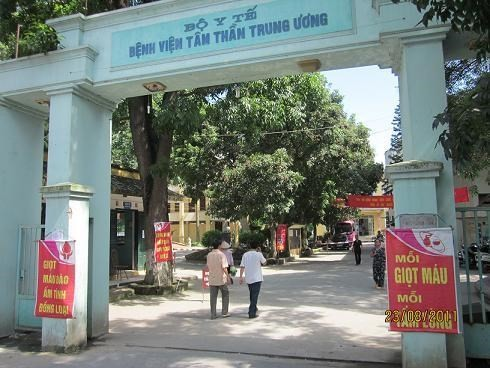 Bệnh viện Tâm thần Trung ương I. (Nguồn: bvtttw1.gov.vn)