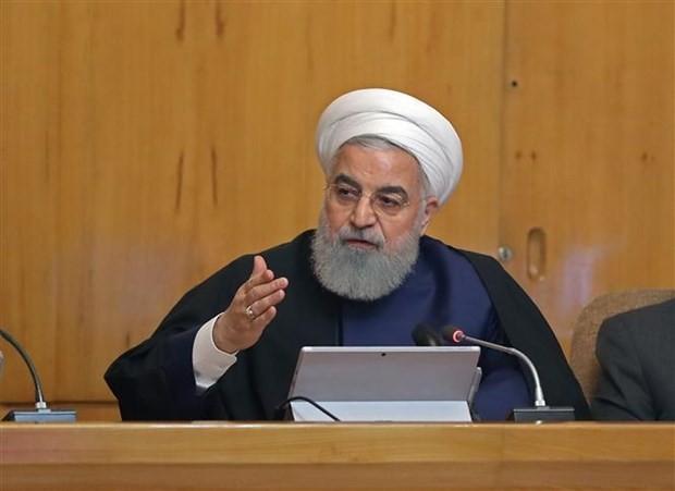 Tổng thống Iran Hassan Rouhani. (Ảnh: IRNA/ TTXVN)