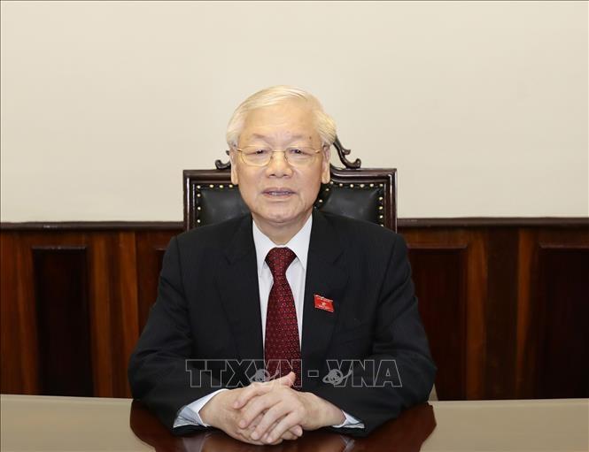Trong ảnh: Tổng Bí thư, Chủ tịch nước Nguyễn Phú Trọng. Ảnh: Trí Dũng -TTXVN