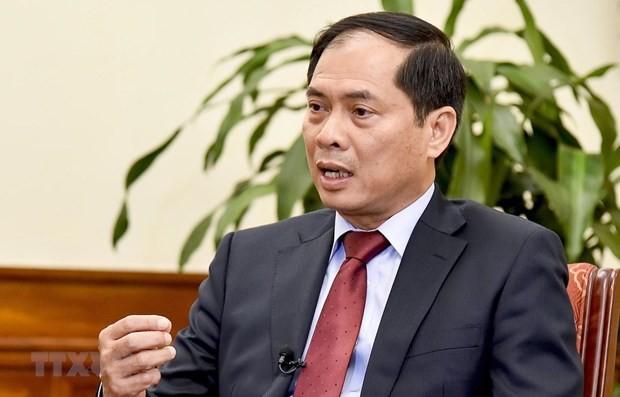 Thứ trưởng Bộ Ngoại giao Bùi Thanh Sơn. (Nguồn: TTXVN)