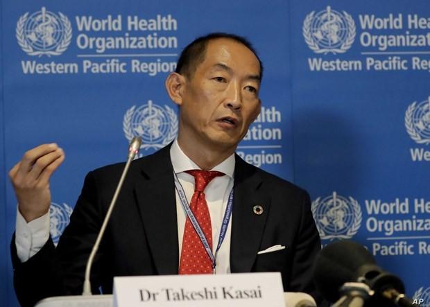 Giám đốc WHO khu vực Tây Thái Bình Dương, ông Takeshi Kasai. (Ảnh: Awarak)