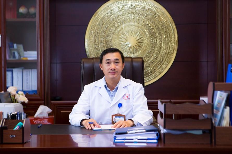 Ông Trần Văn Thuấn, Giám đốc Bệnh viện K. Ảnh: benhvienk.vn
