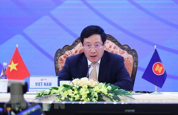 Phó Thủ tướng Chính phủ, Bộ trưởng Ngoại giao Phạm Bình Minh. (Nguồn: TTXVN)