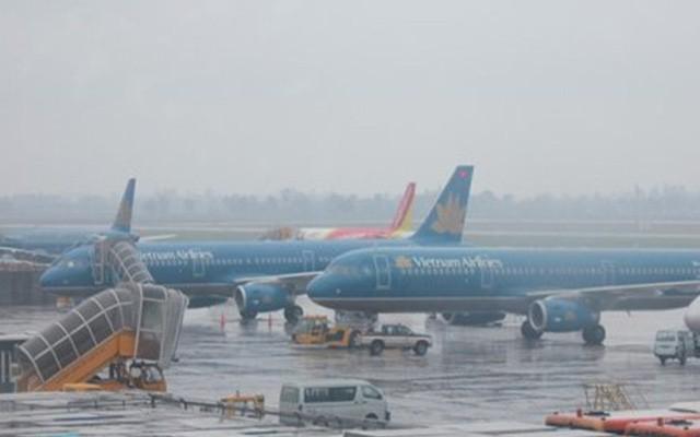 Tạm dừng hoạt động 5 sân bay do ảnh hưởng của cơn bão số 9