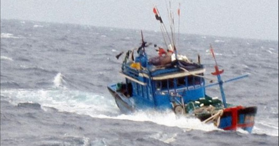 Hiện chưa tìm kiếm được 02 tàu cá bị nạn cùng 26 thuyền viên mất tích. Ảnh minh họa.