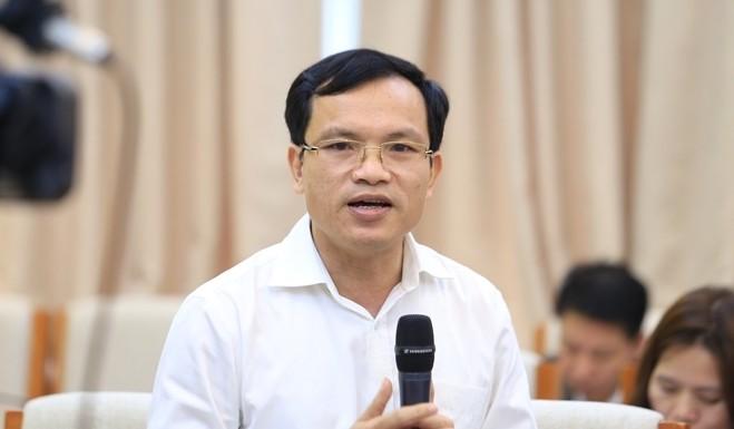 Ông Mai Văn Trinh - Cục trưởng Cục Quản lý chất lượng (Bộ GD&ĐT)