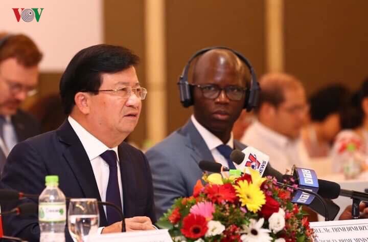 Phó Thủ tướng Trịnh Đình Dũng phát biểu tại VBF 2019.