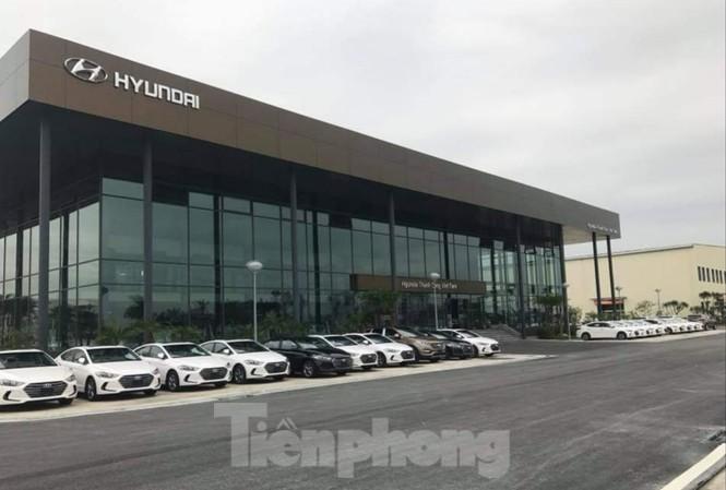 """Công ty CP sản xuất ô tô Huyndai Thành Công """"tố"""" nhiều lần bị cắt điện sai so với thông báo - Ảnh: Hoàng Long"""