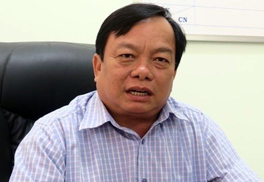 Ông Trần Hoàng Khôi tại phòng làm việc hồi tháng 4/2019