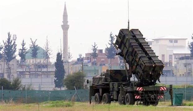 Hệ thống phòng không Patriot của Tây Ban Nha triển khai tại Thổ Nhĩ Kỳ. (Nguồn: Anadolu Agency)