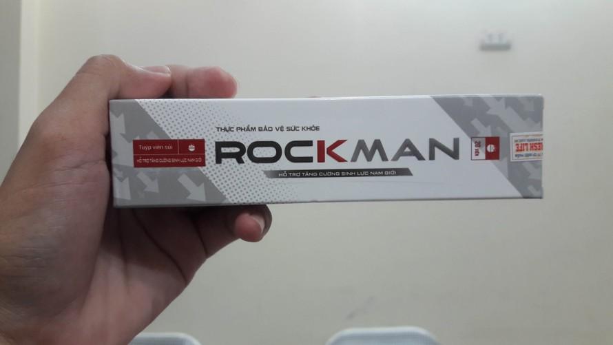 Sản phẩm thực phẩm bảo vệ sức khoẻ Rockman.