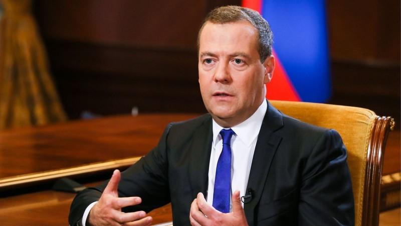 Thủ tướng Nga Dmitry Medvedev. Ảnh: TASS