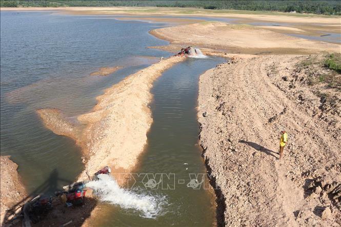 Thủ tướng Chính phủ vừa phê duyệt Nhiệm vụ lập quy hoạch tài nguyên nước thời kỳ 2021-2030, tầm nhìn đến năm 2050. Ảnh minh họa: Nguyễn Oanh/TTXVN