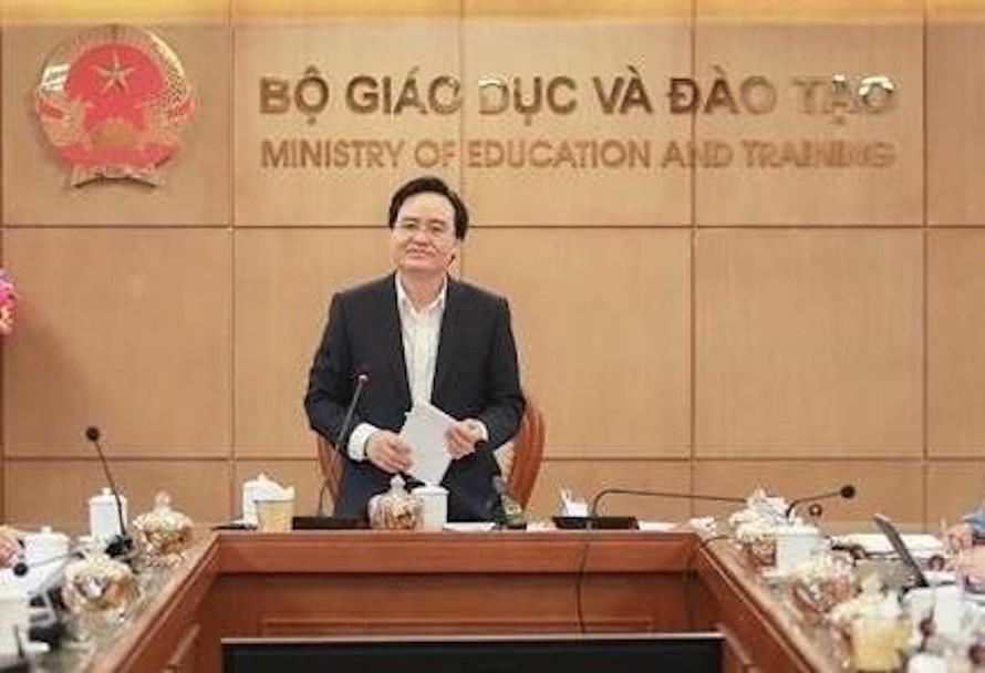 Bộ trưởng GD-ĐT Phùng Xuân Nhạ. Ảnh: Bộ GD-ĐT.