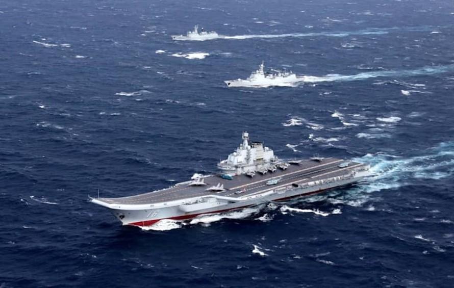 Tàu sân bay của Trung Quốc. Ảnh minh họa: Reuters.