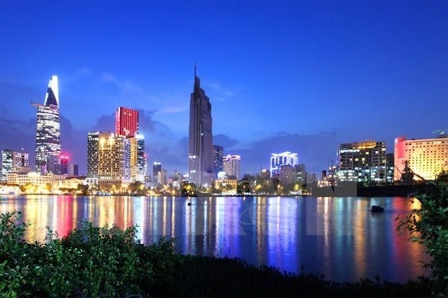 Một góc Thành phố Hồ Chí Minh. (Ảnh: Ngọc Hà/TTXVN)