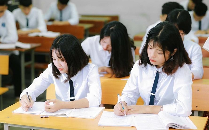 Phương án thi tốt nghiệp THPT 2020 không khác nhiều so với năm 2019. Ảnh: ITN