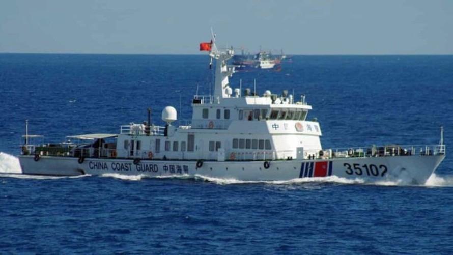 Các hành động của Trung Quốc ở Biển Đông làm cho tình hình khu vực trở nên căng thẳng hơn. Ảnh: AP