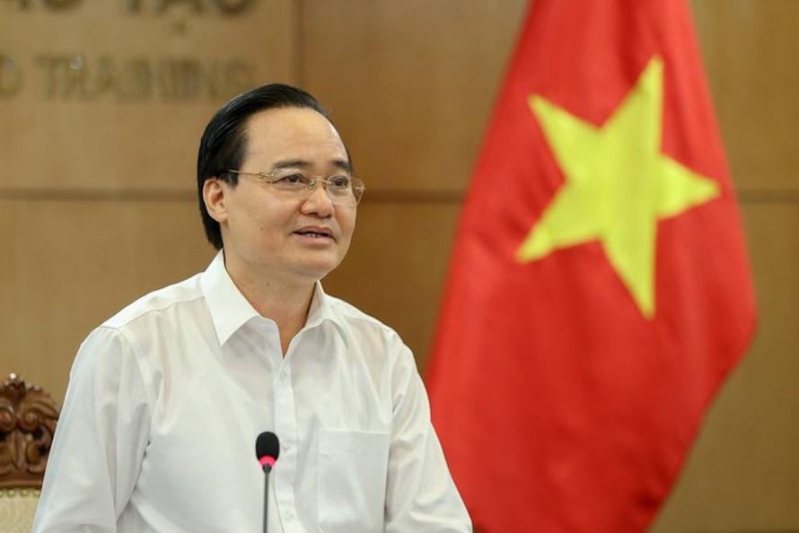 Bộ trưởng Phùng Xuân Nhạ (ảnh: Bộ Giáo dục và Đào tạo)