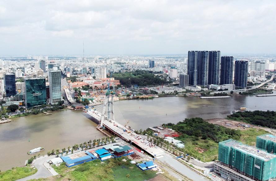 Thành phố Hồ Chí Minh ngày một to đẹp, hiện đại hơn. Ảnh: NDĐT