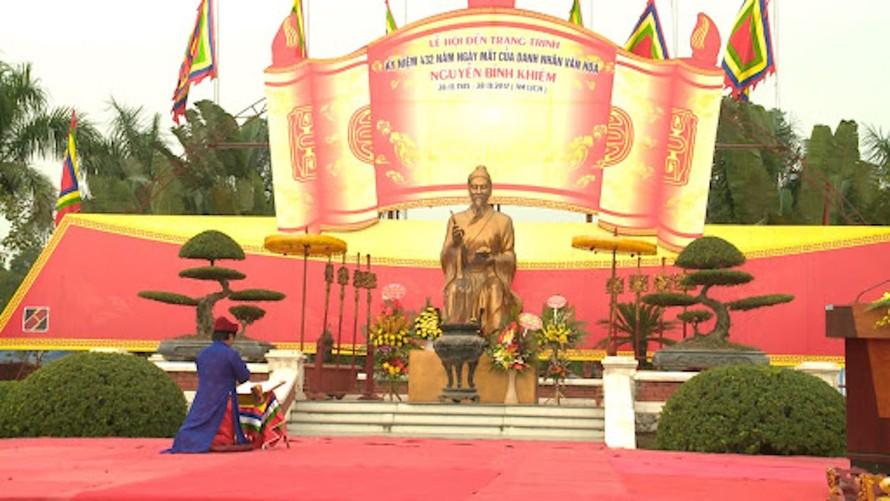 Lập quy hoạch tu bổ Di tích quốc gia đặc biệt Đền thờ Nguyễn Bỉnh Khiêm