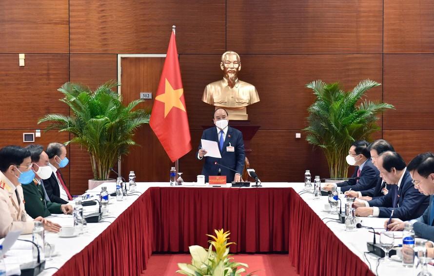 Cuộc họp được tổ chức tại Trung tâm Hội nghị Quốc gia Mỹ Đình.