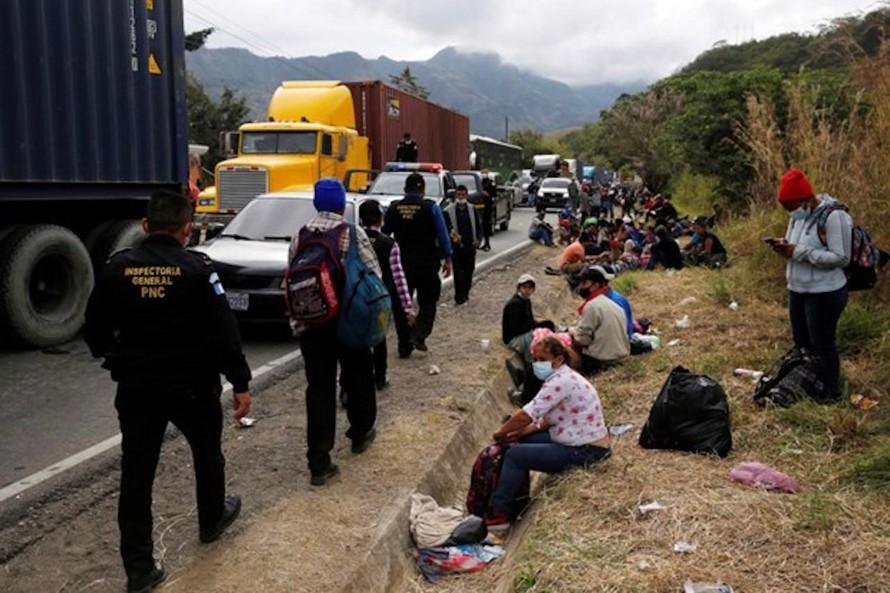 Mỹ đình chỉ loạt thỏa thuận về tị nạn với các nước Trung Mỹ