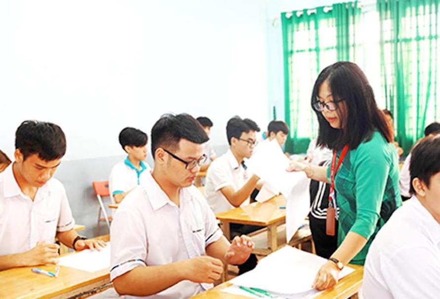 Kỳ thi tốt nghiệp THPT năm 2021 dự kiến diễn ra trong 2 ngày với 5 bài thi. (Ảnh minh hoạ)