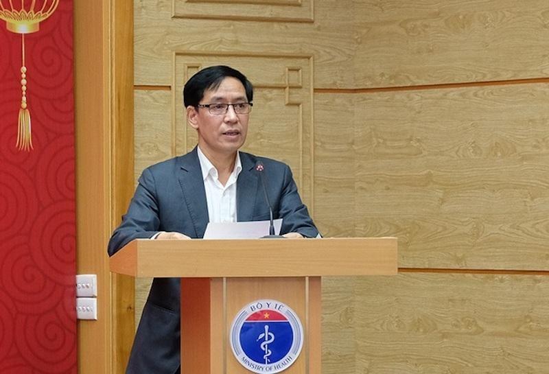 TS Đặng Quang Tấn - Cục trưởng Cục Y tế dự phòng (Bộ Y tế).