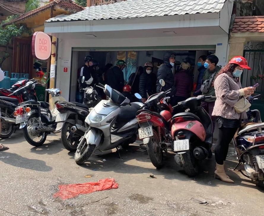 Cơ sở Bếp Hoa (131 Thịnh Quang, phường Thịnh Quang, quận Đống Đa, Hà Nội).