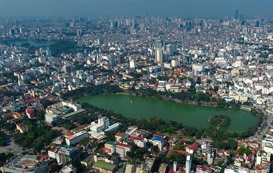 Chất lượng không khí Hà Nội đang ở mức trung bình, không ảnh hưởng sức khỏe