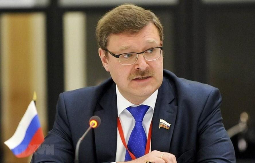 Chủ tịch Ủy ban Đối ngoại Hội đồng Liên bang (Thượng viện) Nga Konstantin Kosachev.