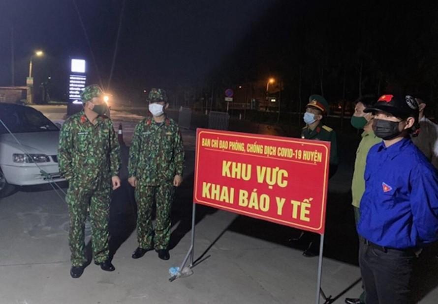 Hải Dương: Tái thiết lập cách ly xã hội tại 10 xã, phường ở thị xã Kinh Môn