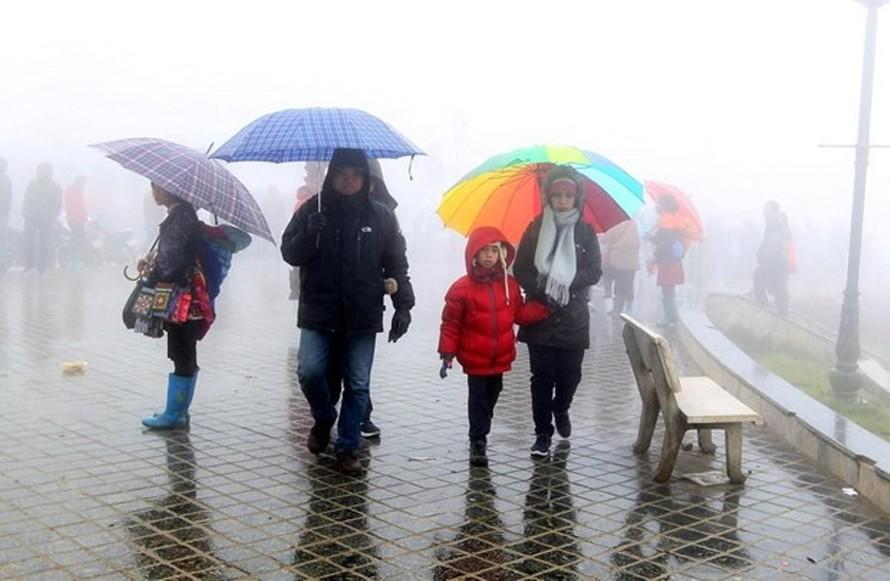 Đón không khí lạnh tăng cường, miền Bắc tiếp tục mưa rét từ 7/3