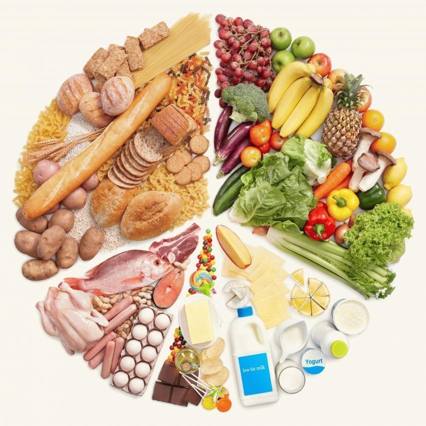 Cần có đủ 4 nhóm thực phẩm trong bữa ăn.