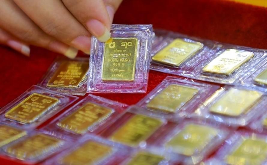 Vàng trong nước kỳ vọng tăng theo thị trường thế giới. Ảnh minh họa