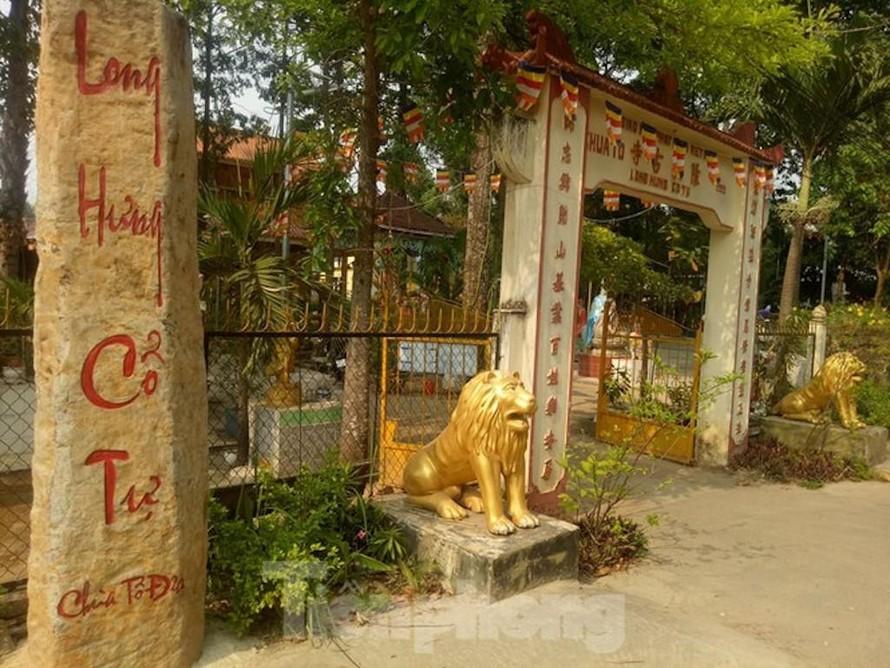 Chùa Long Hưng hay còn gọi là chùa Tổ Đỉa