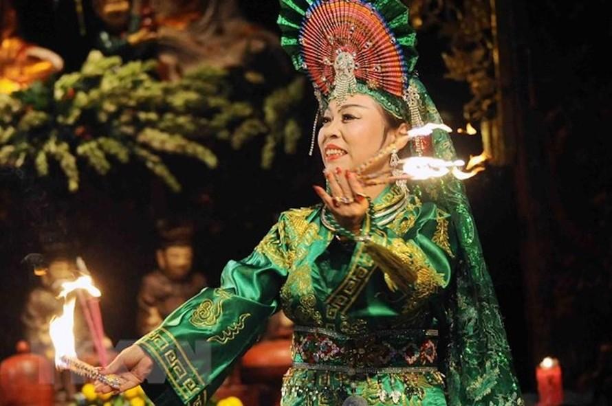 Liên hoan hát văn, hát chầu văn toàn quốc sẽ diễn ra tại tỉnh Vĩnh Phúc từ ngày 15 đến 18/4. (Ảnh minh hoạ).