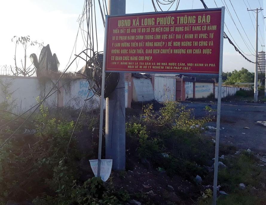 Đồng Nai: Xử lý nghiêm tình trạng phân lô bán nền trái phép