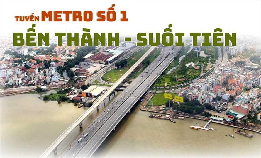 Sẽ vận hành tuyến Metro 1 trong năm 2022