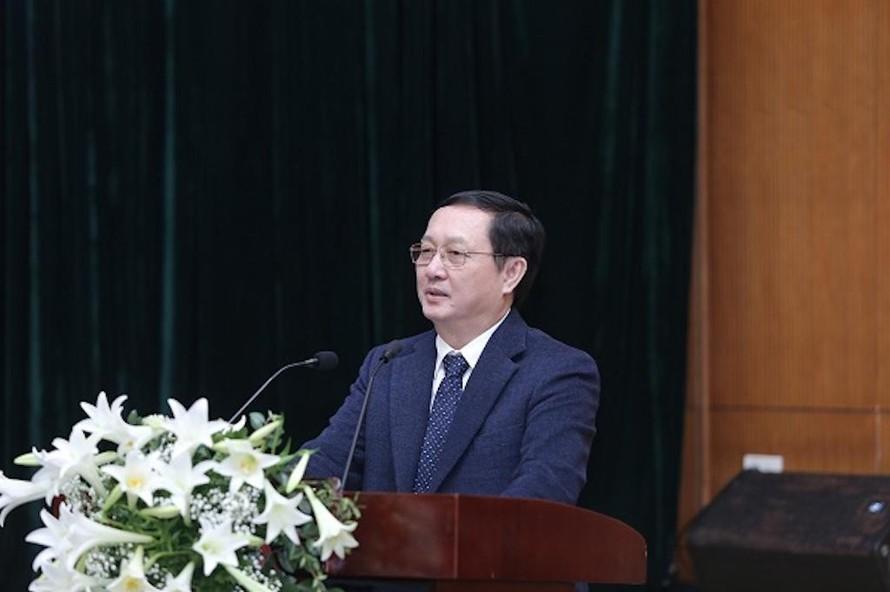 Bộ trưởng Bộ KH&CN Huỳnh Thành Đạt phát biểu tại Hội nghị.