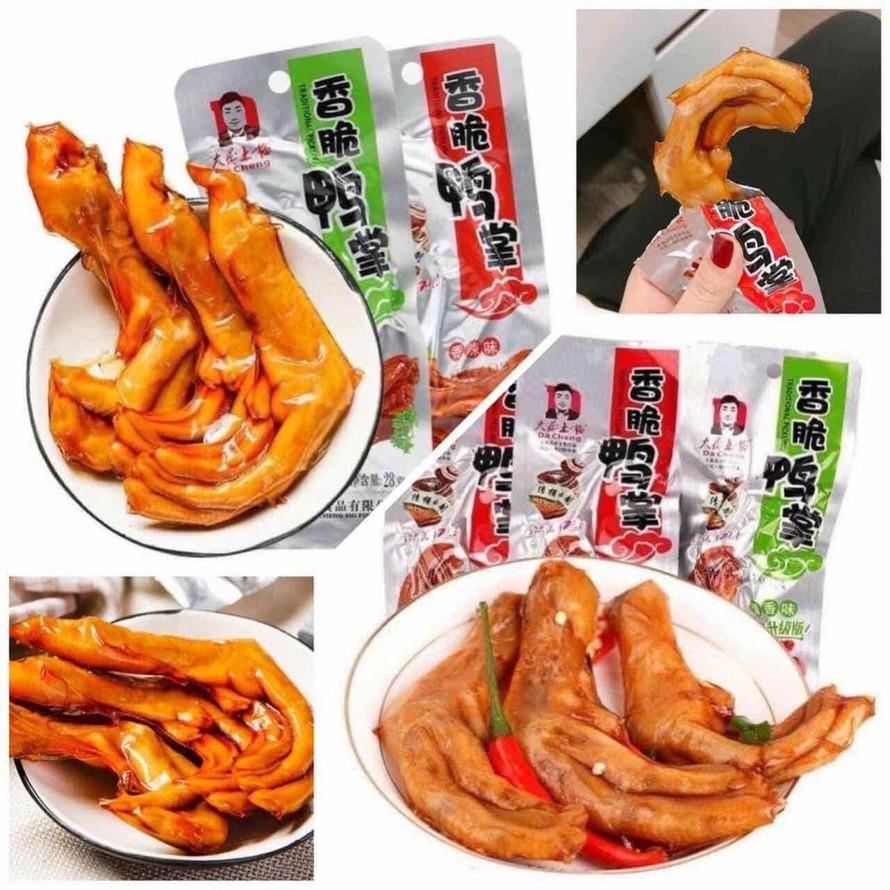 Mối nguy hại từ món ăn chân vịt cay Tứ Xuyên